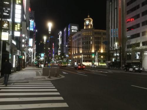 銀座駅写真