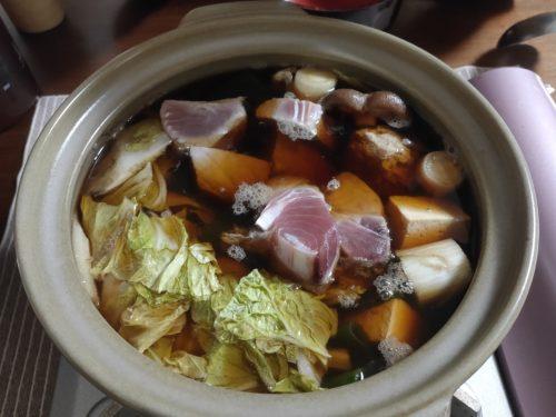 葱鮪鍋の写真
