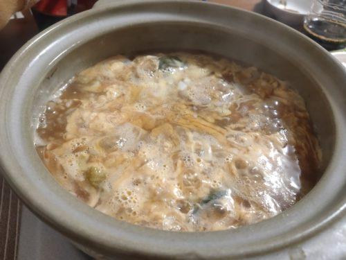 マグロの卵雑炊