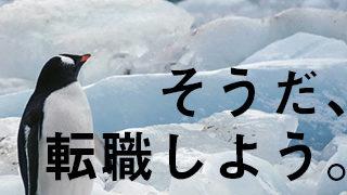 転職しようと心ざすペンギン